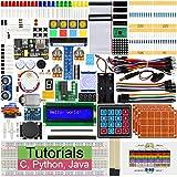 Freenove Ultimate Starter Kit para Raspberry Pi 4 B 3 B+ 400, 434 Páginas de Tutoriales, Python C Java, 223 Elementos, 57 Pro