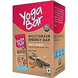 Yogabar Vanilla Almond Multigrain-Energy Bars - Pack of 10, Healthy Diet Snacks with Dates, Oats and Millets, Gluten…