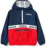 Levi's kids LVN Half Zip Windbreaker Chaqueta para lluvia para Niños