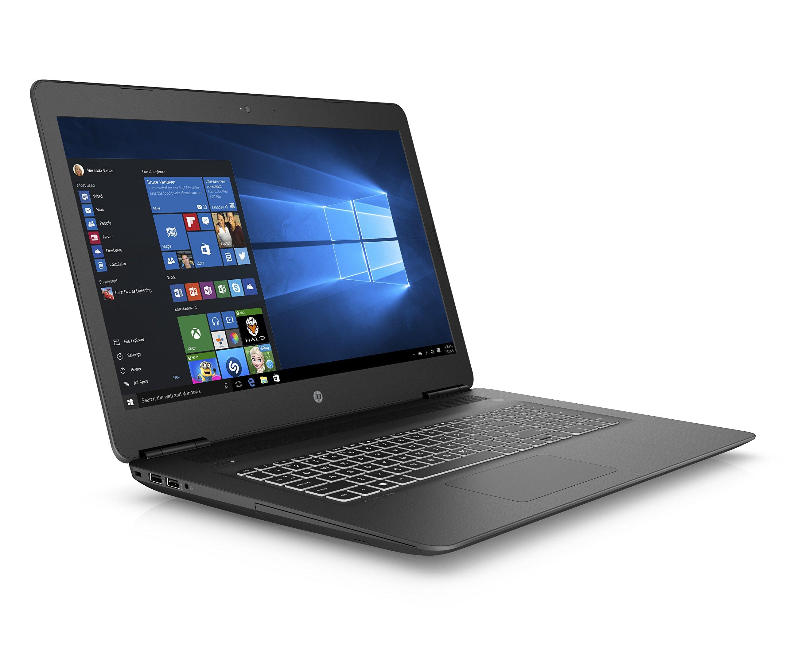 HP Pavilion 17-ab405na 17.3 Inch FHD Gaming Laptop – (Black) (Intel i5-8300H, 8 GB RAM, 1 TB HDD, NVIDIA GeForce GTX…