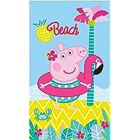 Peppa Pig 045209 Summer Badetuch, Baumwolle, Bunt, 70 x 120 cm, 1 Einheiten