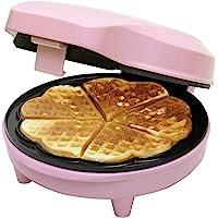 Bestron ASW217 Piastra per Waffle  700 W  Plastica  Rosa