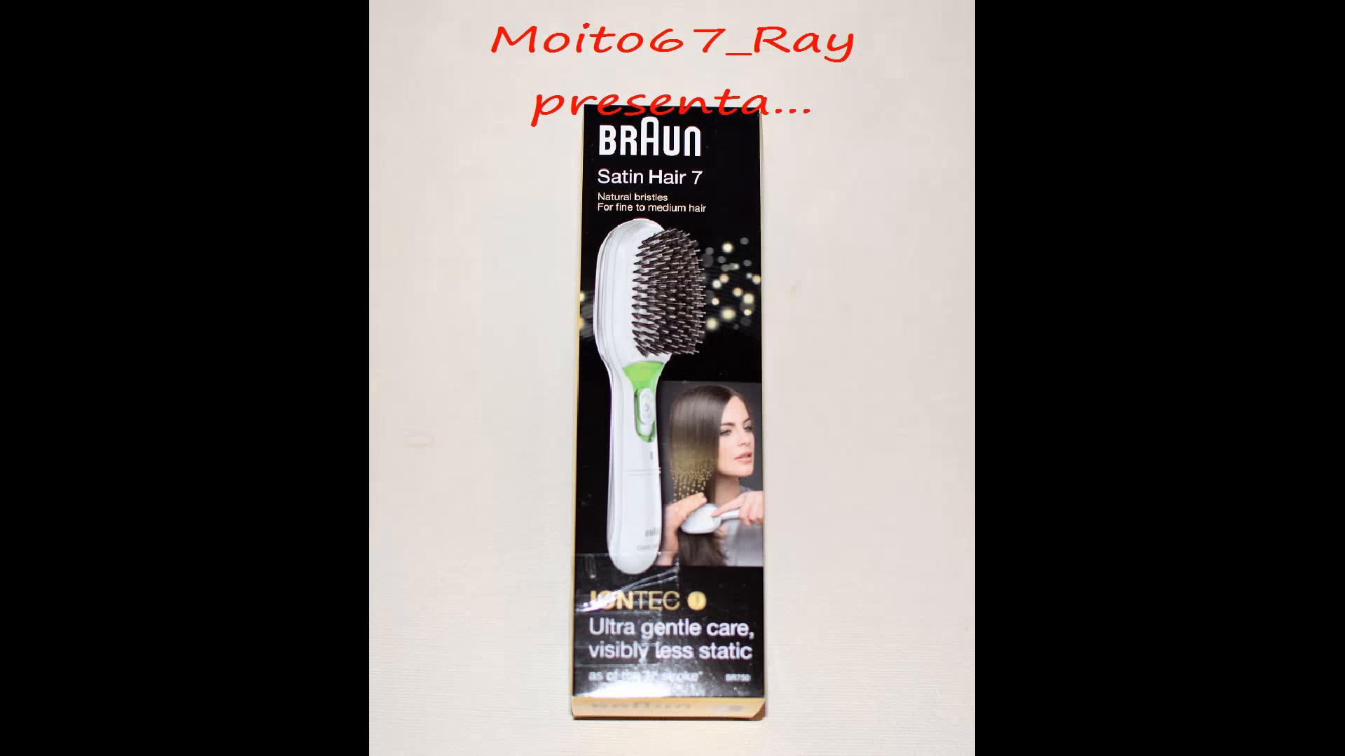 Amazon.es:Opiniones de clientes: Braun Satin Hair 7 BR750 - Cepillo de pelo con cerdas naturales, cepillo alisador de pelo con tecnología iónica para ...