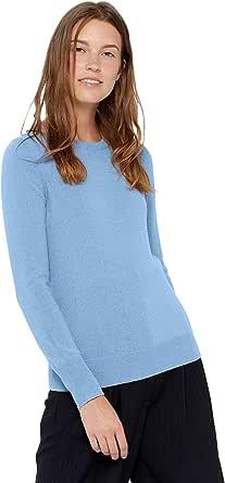 State Cashmere Donna 100% Puro Cashmere Pullover A Manica Lunga Girocollo