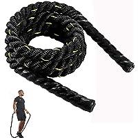 Tonyko, corda per saltare con pesi, 1in×9ft