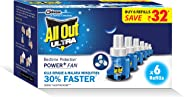 All Out Ultra Power+ FAN (6 refills pack)