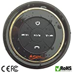 iFox iF012 Bluetooth Shower Speaker - Certified Waterproof. Wireless, Portable Speaker w/ Suction Cup and Pairs Easily...