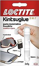 Loctite, 2239174, Kintsuglue pasta adesiva modellabile e flessibile, Bianco
