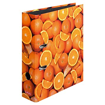 Bürobedarf ordner  Ordner A4 8 cm Orange: Amazon.de: Bürobedarf & Schreibwaren