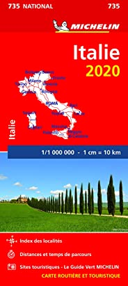 Carte Michelin Italie 2020
