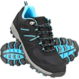 Mountain Warehouse McLeod Womens Walking Shoes - Lightweight, Warm, Durable, Breathable, Mesh Lining, Sturdy Grip, Rubber Out
