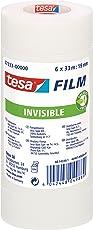 tesafilm, matt-unsichtbar, 33m x 19mm, Vorteilspack mit 6 Rollen
