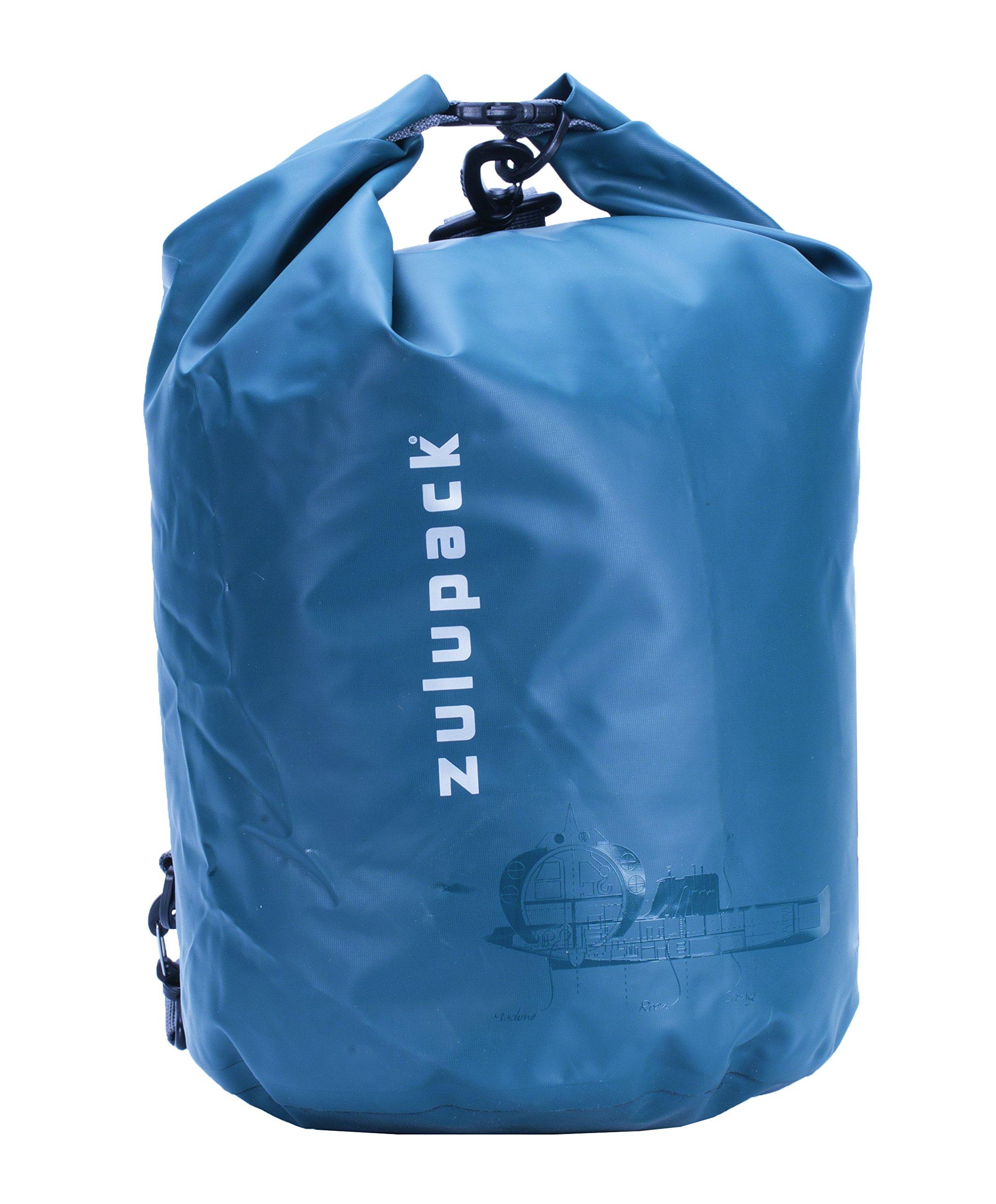 ZULUPACK - Sac étanche Tube Zulu - Bleu, 15 L