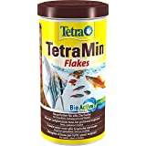 TetraMin Flakes - Mangime per Pesci sotto forma di Mix di Fiocchi con Nutrienti Efficaci e di Alta Qualità, 1 L