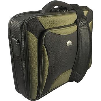 Natec 17 inch Pitbull Laptop Bag - Black Green  Amazon.co.uk ... d85c24b640