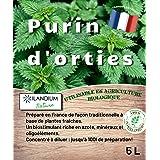 Purin d'orties 5L (existe en 2L )   100% naturel liquide et concentré   Made in France   Jusqu'à 100L de produit   Biostimula