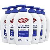 Lifebuoy Caring Handzeep Hygiëne & Care (antibacterieel), zeepdispenser - 6 x 250 ML - Voordeelverpakking