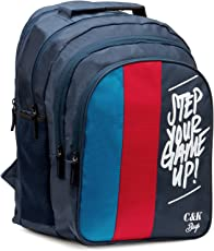 Chris & Kate Big 42 litres Comfortable Blue-Red Casual Laptop Bag || College Bag || Backpack ||School Bag(CKB_181SE)
