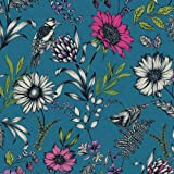 Arthouse 676001 Wallpaper/Wallcoverings, Teal, One Size