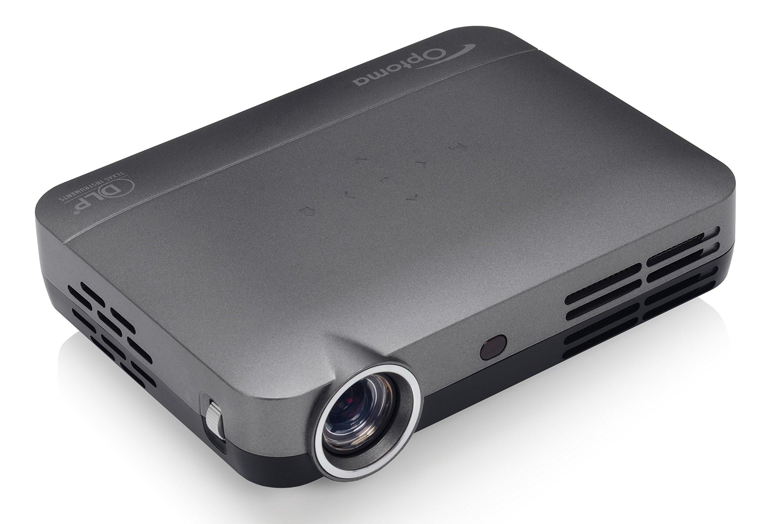 81GSRAfP1wL - Optoma ML330 500 LED Brightness Ultra-Compact Android LED Projector - Grey/Black