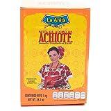 Achiote La Anita Spezia Colorante per cucinare il Cochinita Pibil Cucina messicana Spezia per Carne - 1 kg