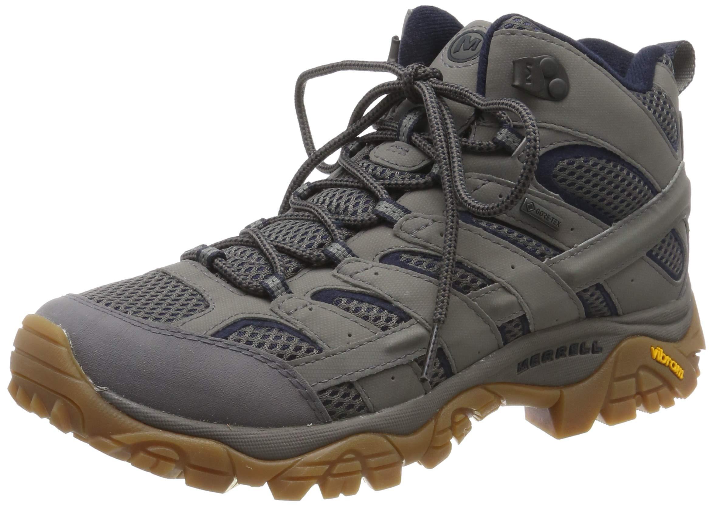 Merrell Men's Moab 2 Mid Gore-tex High Rise Hiking Shoes 1