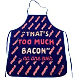 Crazy Dog Tshirts - That's Too Much Bacon Sand No One Ever Funny Cooking Breakfast Kitchen Accessories -