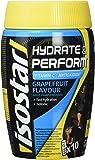 Isostar Hydrate & Perform – 400 g isotonisches Elektrolytgetränk – Elektrolytlösung zur Unterstützung der sportlichen Leistungsfähigkeit – Grapefruit
