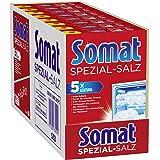 Somat Specialsalt, diskmaskinssalt, för bättre diskdiskprestanda (8 x 1,2 kg)