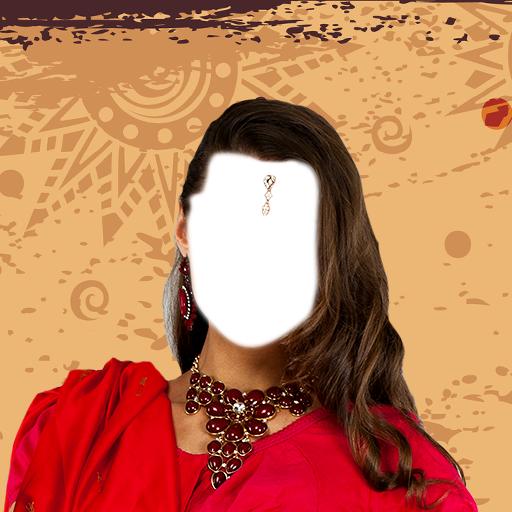 Hochzeit Saree Fotomontage (Sari Saree Com)
