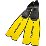 Cressi Rondinella Full Foot Snorkeling/Free Diving Fins (Made in Italy)
