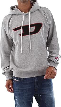 Diesel Men's S-Division-d Sweat-Shirt Sports Hoodie