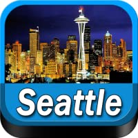 Seattle Offline Map Travel Guide (Kindle Tablet Edition)