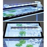 BPS® Led-aquariumlamp, onderwater-plantenverlichting, wit en blauw licht, 2 modellen om uit te kiezen 4 W/8 W