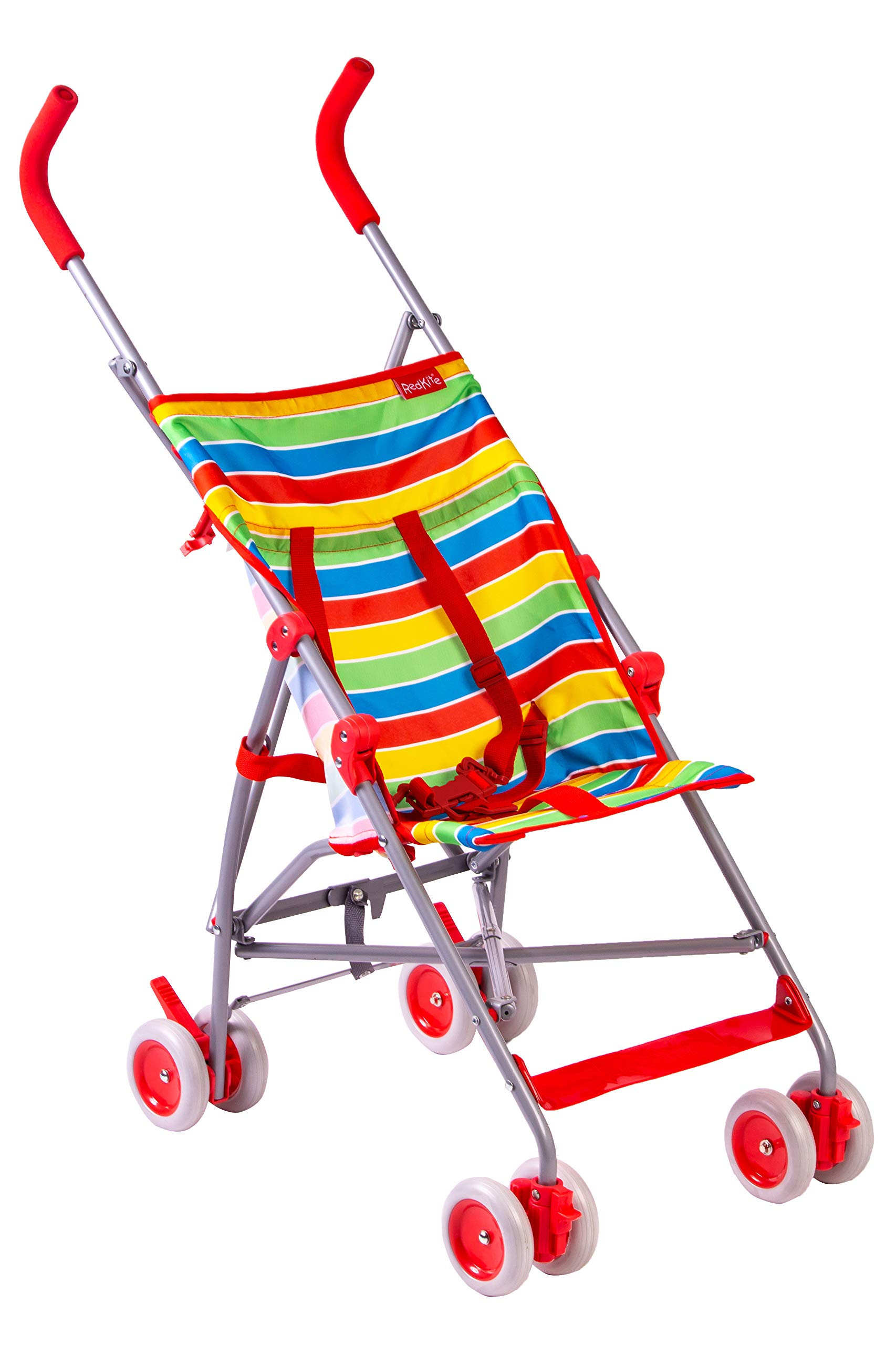 Red Kite Baby Push Me Lite Summer Stripe Pushchair Red Kite Ideal for holidays Makes a perfect second buggy Suitable from 6 months 1