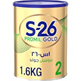 Wyeth Nutrition S26 Promil Gold Stage 2, 6-12 Months Premium Follow On Formula for Babies Tin, 1.6 kg