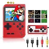 Handheld Spielekonsole Xpassion Retro Mini Game Player mit 400 klassischen FC-Spielen 2,8-Zoll-Farbbildschirm…