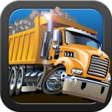 Heavy Trucks - book, puzzle and a toy for preschool, toddlers and babies