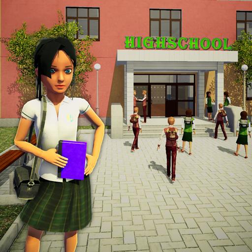 Schulmädchen-Simulator: High-School-Spiele