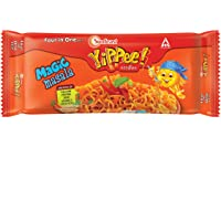 Sunfeast YiPPee! Magic Masala long, slurpy noodles   with real vegetables and nutrients   Four in One Pack, 240g Pack