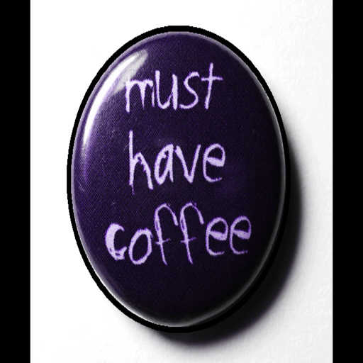 Coffee Zombie Button
