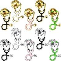 Spilla di Stetoscopio Spilla Smaltata Pin Distintivi Zainetto Simpatici per Natale Dottore Infermiere Studenti di…