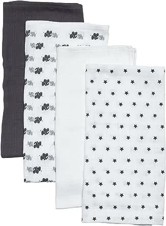 Care Spucktücher Baby aus Baumwolle im 4er Pack und 10er Pack