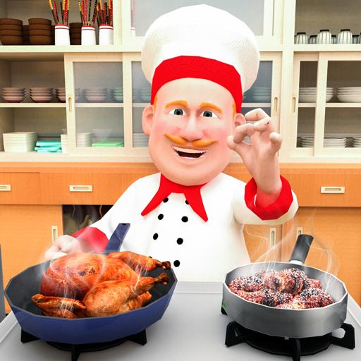 Chef Virtuel Cuisine Folie 3d Mon Restaurant De Jeux De Cuisine