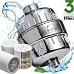 12 Stage Shower Water Filter with Vitamin C For Hard Water - 2 Cartridges Included Shower Filters Removes Chlorine...