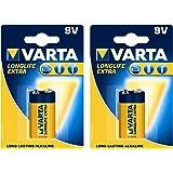 Varta 4122101411 batteriuppsättning 2 x (E-block, extrabatteri med lång livslängd)