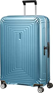 Samsonite Neopulse - Spinner L Valise, 75 cm, 94 L, Bleu (Matte Ice Blue)