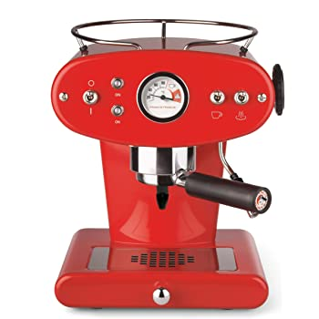 illy francisfrancis 6335 x1 machine expresso pour caf moulu rouge import allemagne amazon