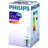 Philips Essential 100W Led Ampul, 2700K Sarı Işık, E27 Normal Duy