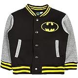 Boys Character Baseball Jacket Warm Fleece Varsity Bomber Coat Kids Size UK 1-7 Years